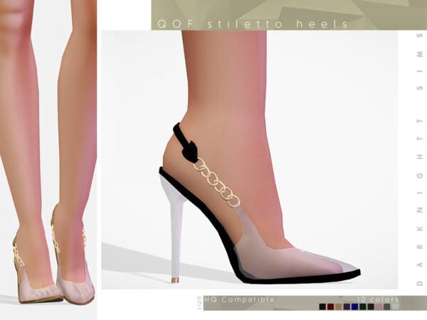 QOF Stiletto Heels by DarkNighTt from TSR