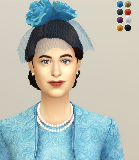 Queen of Blue Hat from Rusty Nail