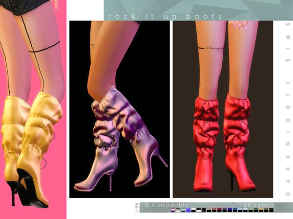 Rock It Up Boots by DarkNighTt from TSR