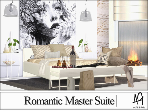 Romantic Master Suite by ALGbuilds from TSR