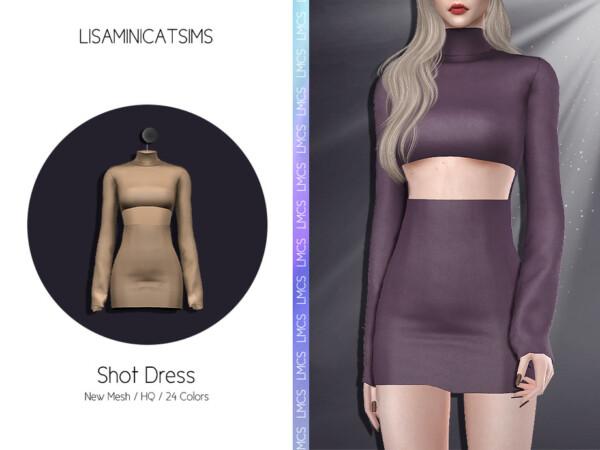 Shot Dress by Lisaminicatsims from TSR