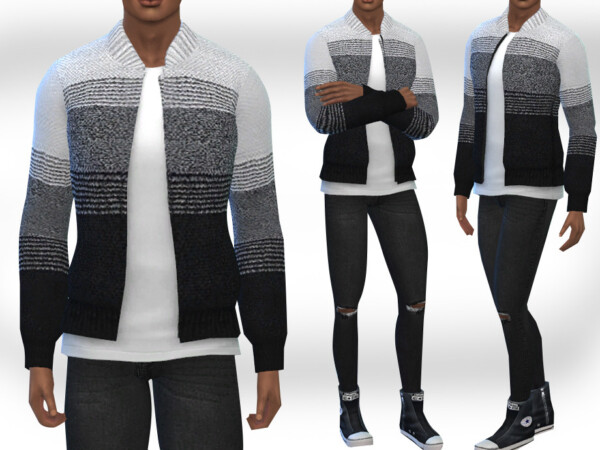 Sims Cardigans by Saliwa from TSR
