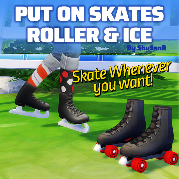 Skate whenever you want by ShuSanR from Mod The Sims