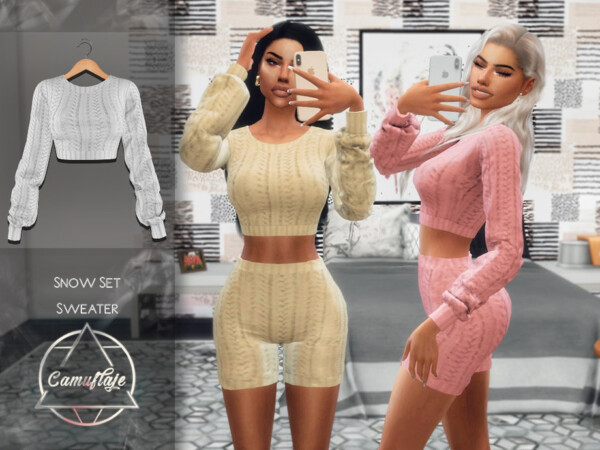 Snow Set Blouse by Camuflaje from TSR
