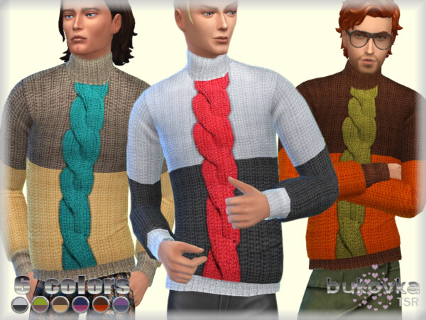 Sweater Color Block by bukovka from TSR