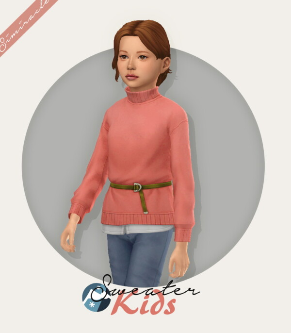 Sweater With Belt Child Version from Simiracle