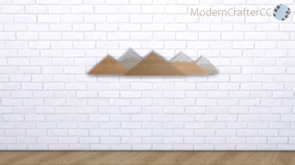 The Alpinist Wall Decor from Modern Crafter