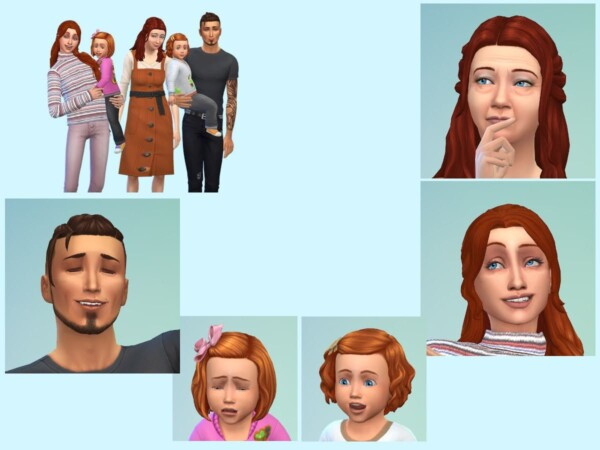 The Vassenden Family from KyriaTs Sims 4 World