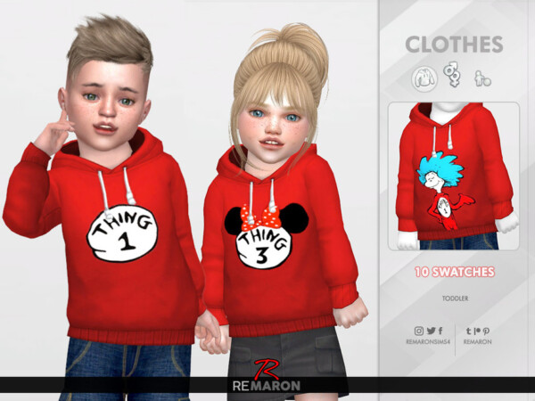 Thing Hoodie for Toddler 01 by remaron from TSR