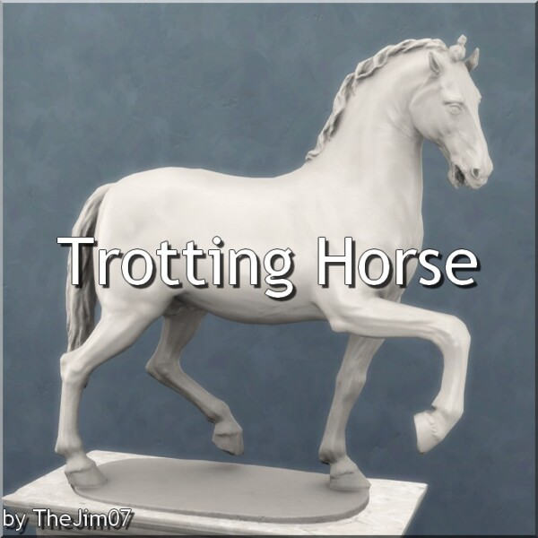 Trotting Horse by TheJim07 from Mod The Sims