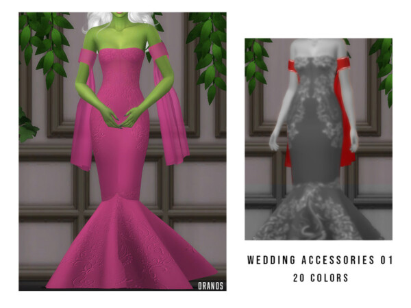 Wedding Accessories 01 by OranosTR from TSR
