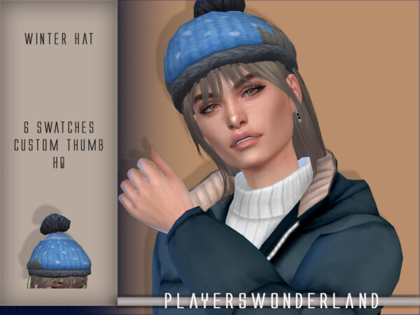 Winter Hat by PlayersWonderland from TSR