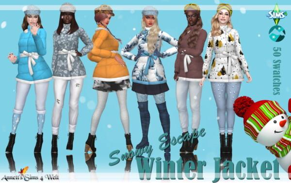 Winter Jacket from Annett`s Sims 4 Welt