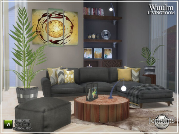 Wuulm living room by jomsims from TSR