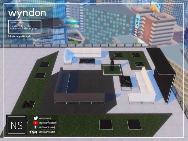 Wyndon Patio by Networksims from TSR