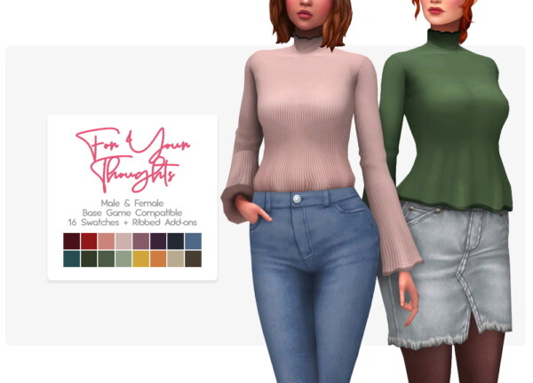 Your Thoughts Sweater from Nolan Sims