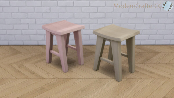 leek Juice Barstool Recolour Set from Modern Crafter