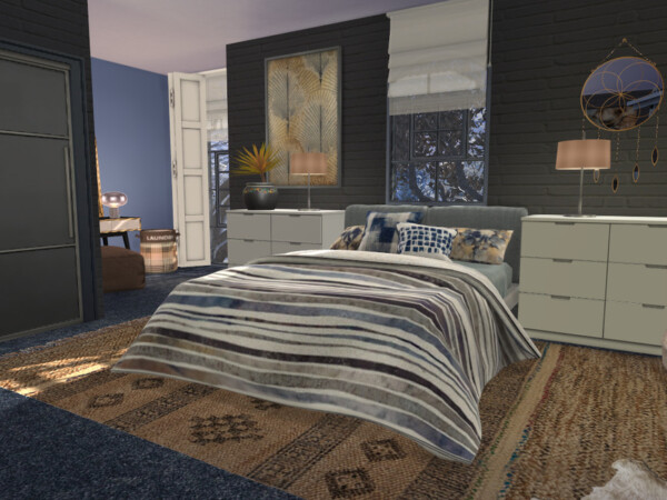 Brick and Steel Milas Bedroom by fredbrenny from TSR