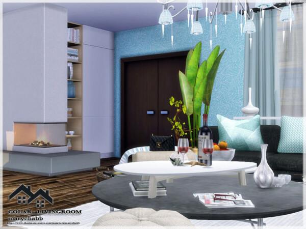Colar Livingroom by  marychabb from TSR