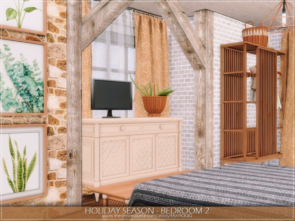 Holiday Season   Bedroom 2 by MychQQQ from TSR