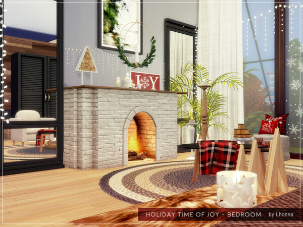 Holiday Time of Joy Bedroom by Lhonna from TSR