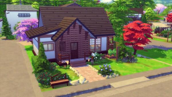 Bergamote Villa from Studio Sims Creation