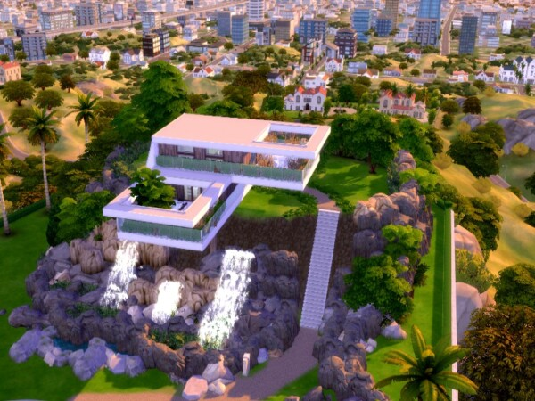 Villa Blanco by GenkaiHaretsu from TSR