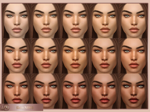 Skin NB03 from MSQ Sims
