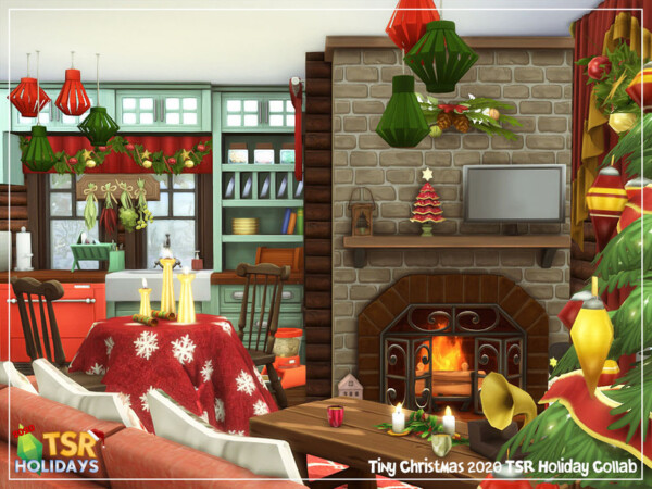 Tiny Christmas House by sharon337 from TSR