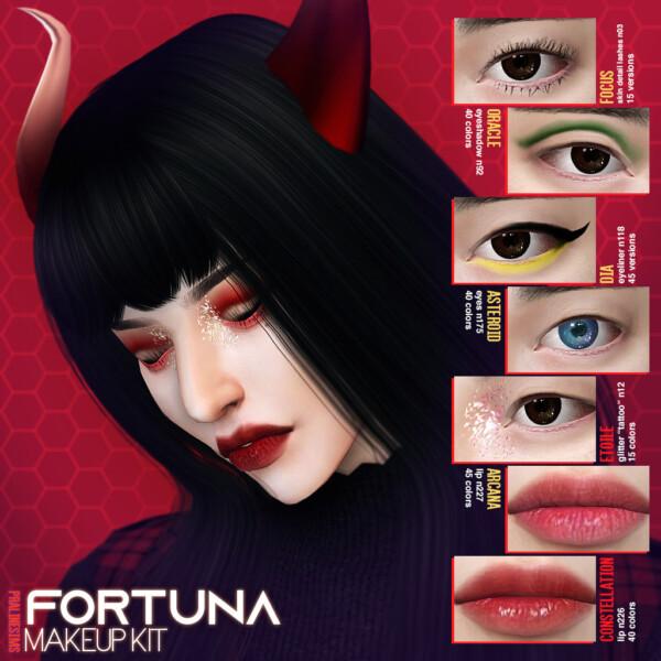 Fortuna Makeup Kit from Praline Sims