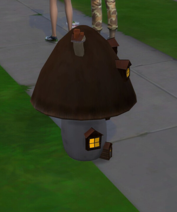 The Twisted Shroom by shadowwalker777 from Mod The Sims