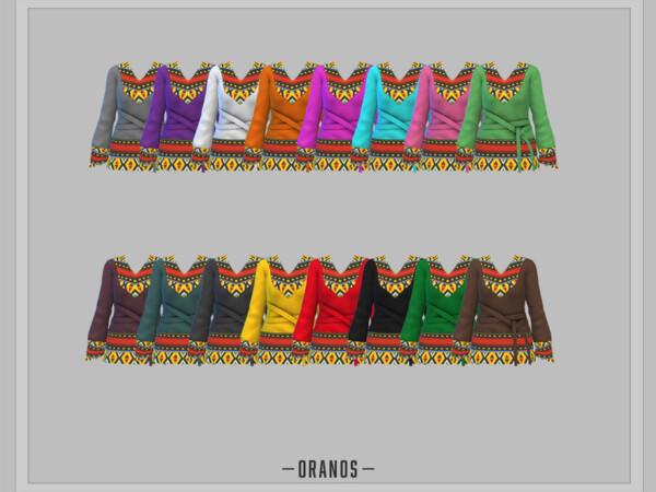 Holiday Wonderland Kwanzaa Top by OranosTR from TSR