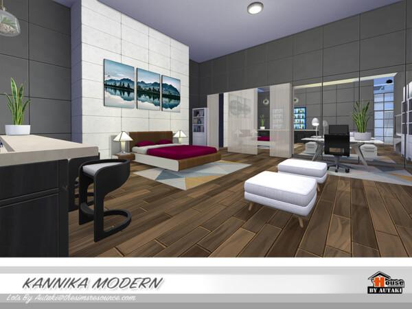 Kannika Modern House by  autaki from TSR