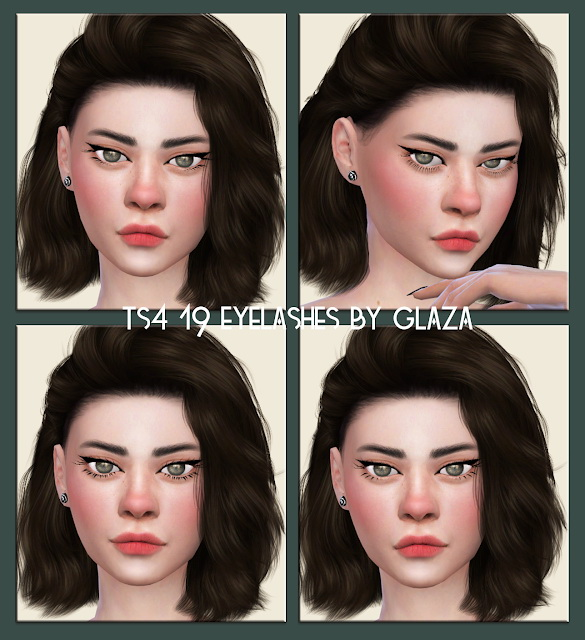 Eyelashes 19 from All by Glaza