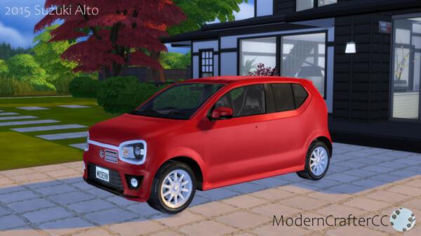 2015 Suzuki Alto from Modern Crafter