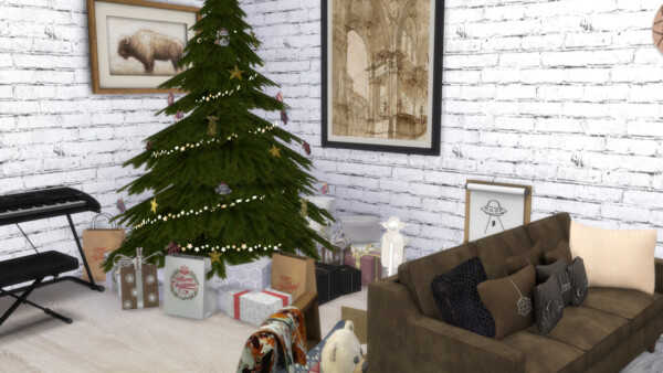 Merry Christmas from Models Sims 4