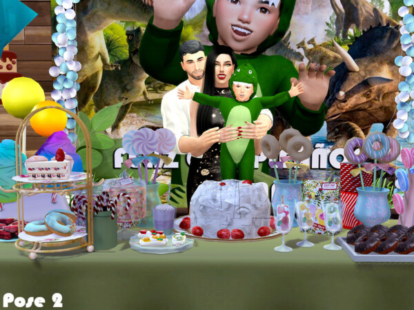 Childrens Party Pose Pack by Beto ae0 from TSR