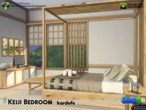 Keiji Bedroom by kardofe from TSR