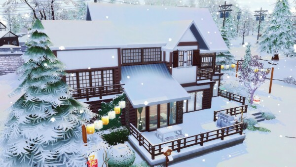 Litchi House from Studio Sims Creation
