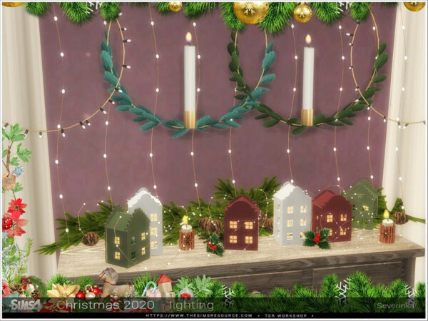 Christmas 2020 lighting set by Severinka from TSR