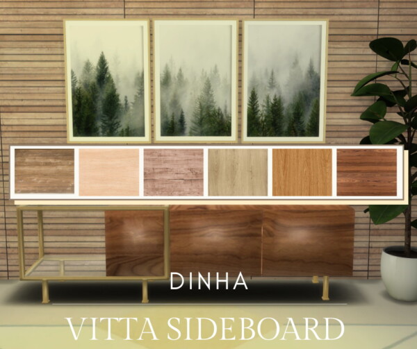 Vitta Sideboard from Dinha Gamer