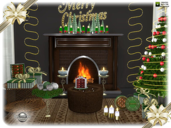 Segor christmas living room part2 by jomsims from TSR