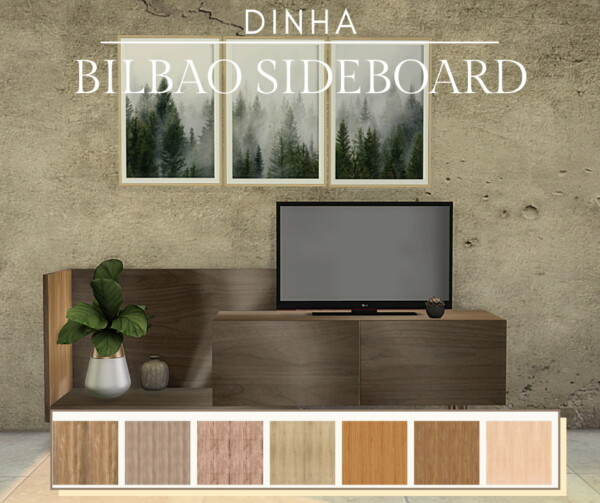 Bilbao Sideboard from Dinha Gamer