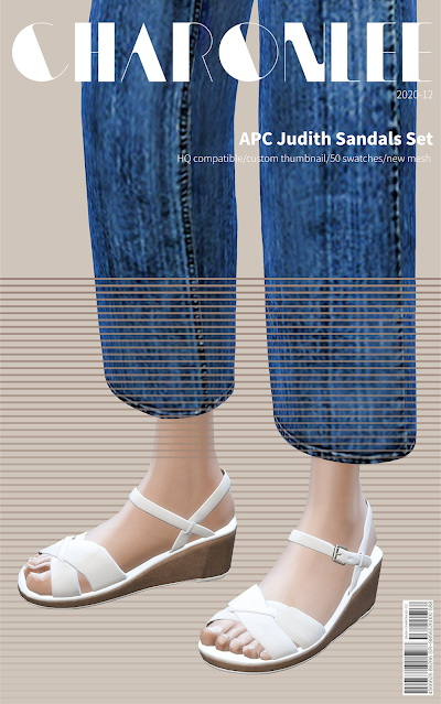 Judith Sandals Set from Charonlee
