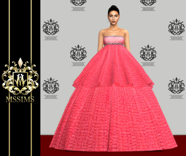 Couture Gown from MSSIMS