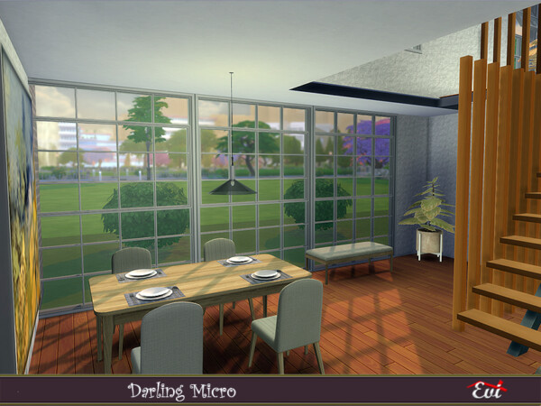 Darling Micro house by evi from TSR