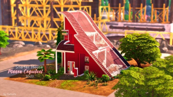 The Coquelicot house by  Catrollz from Luniversims