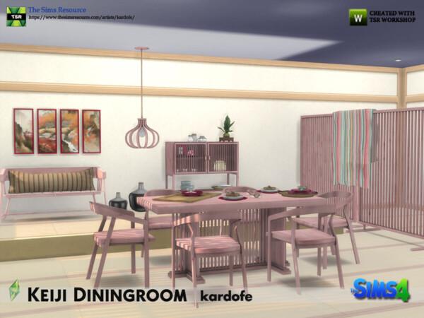 Keiji Diningroom by kardofe from TSR