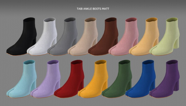 Tabi ankle boots from MMSIMS