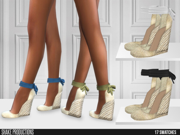 577 Espadrille Wedge Sandals by ShakeProductions from TSR